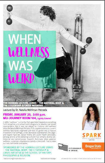 osu petrzela, wellness history, natalia petrzela speaker, history of wellness fitness history