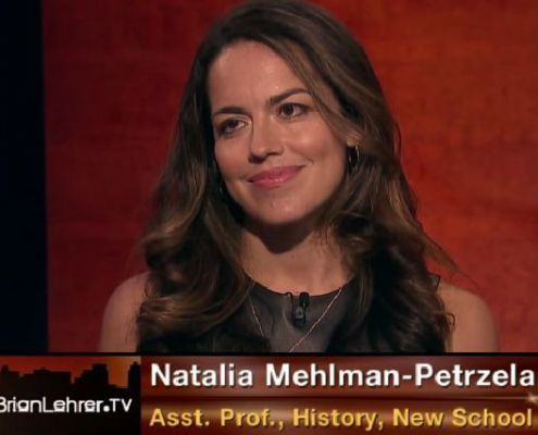 Natalia Mehlman Petrzela, Natalia Petrzela, historian, Brian Lehrer, Brian Lehrer TV, press, commentary, emoji, Mic, TV, website, The New School