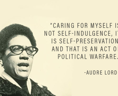 audre lorde wellness, wellness politics, wellbeing politics, activism and wellbeing