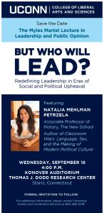 natalia petrzela, political historian, history of politics